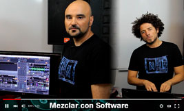 Mezclar con software
